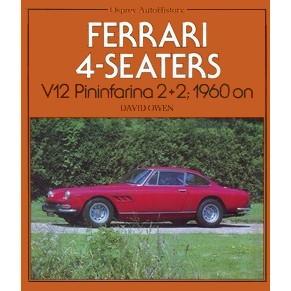 Ferrari 4 Seaters V12 Pininfarina 2+2 1960 on David Owen