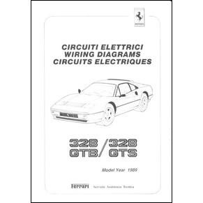 wiring diagrams pdf ferrari automobilia maranello literature librairie. Black Bedroom Furniture Sets. Home Design Ideas